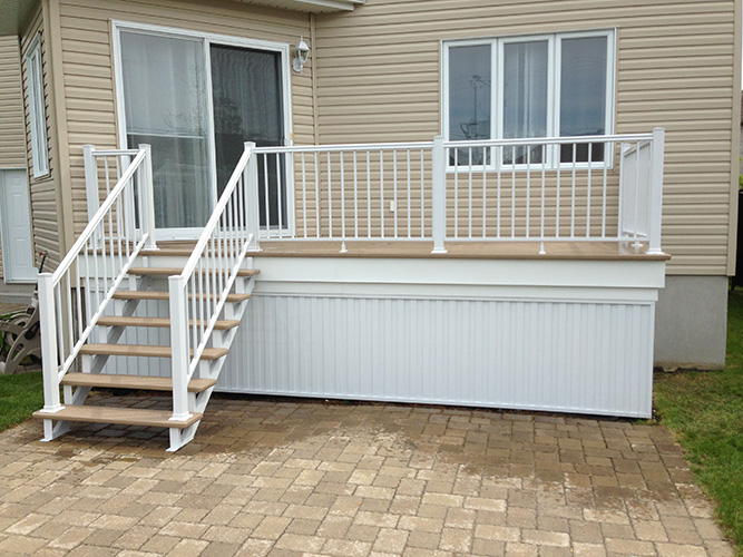 remplacement installation escaliers aluminium longueuil boucherville st hubert brossard sainte. Black Bedroom Furniture Sets. Home Design Ideas